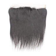 Remy Brazilian Virgin Human Hair Lace Frontal 13*4 Straight Hair Closure Pieces 130%