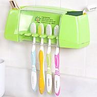 Zahnbürstenhalter Multi-Funktion Lagerung Plastik WC Bad Caddies