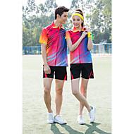 Set di vestiti/Completi-Badminton-Per donna-Traspirante Comodo-Giallo Rosso Blu Viola