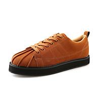 Herren-Sneaker-Outddor Lässig Sportlich-Wildleder-Flacher Absatz-Komfort Mary Jane Bullock Schuhe-Schwarz Grau Braun