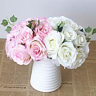 Esküvői virágok Kör Rózsák Csokrok Esküvő Selyem