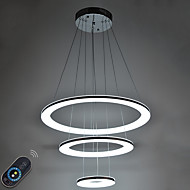 46W LED Acrylic Pendant Light Indoor Home Deco Lighting Fixtures  with Remote Control