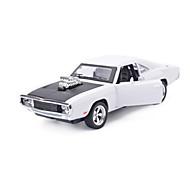 レーシングカー プルバック式乗り物おもちゃ 車のおもちゃ 1:28 メタル シルバー アイボリー ブラウン プラモデル&組み立ておもちゃ