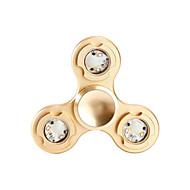 Fidget spinners Hand Spinner Speeltjes Tri-Spinner Aluminium Metaal EDCKantoor Bureau Speelgoed Relieves ADD, ADHD, Angst, Autisme voor