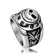 Ring Titanium Staal Euramerican Zilver Sieraden Dagelijks 1 stuks