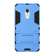 For Redmi Note 4X 4 Prime Case Cover Shockproof with Stand Back Cover Solid Color Hard PC Redmi 4 4A 3S Note 4 Note 3
