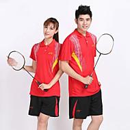 Set di vestiti/Completi-Badminton-Unisex-Traspirante Comodo-Rosso Nero