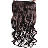 Připínací syntetický Prodloužení vlasů 50 Prodlužování vlasů