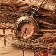 남성 회중 시계 석영 합금 밴드 브론즈