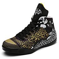 יוניסקס-נעלי ספורט-מיקרופייבר-נוחות נעלי זוג--שטח יומיומי ספורט-עקב שטוח