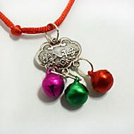 ファッションペットの長寿のロックペンダントネックレス小さな犬の猫の鐘の服の飾りクリスマスアクセサリー