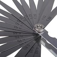 Sata følermåler 23 stk. (0,02-1,00mm) 09405 måleverktøy
