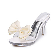 Women's Heels Spring Summer Fall Comfort PU Dress Casual Stiletto Heel Flower
