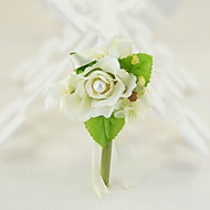 YUXIYING  Roses Boutonnieres Wedding Party/ Evening Cotton Silk