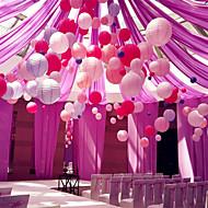 6pcs / set lanterna de papel chinês aniversário festa de casamento decor dom artesanato diy ter 6 tamanho 15cm 20 centímetros 25