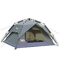 3-4 persone Tenda Doppio Tenda automatica Una camera Tenda da campeggio 2000-3000 mm Oxford Ompermeabile-Campeggio-