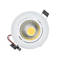 3W 2G11 LED ugradbene žarulje Ugradbena rasvjeta 1 COB 250 lm Toplo bijelo Hladno bijelo Može se prigušiti Ukrasno AC 220-240 AC 110-130 V