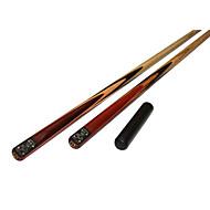 Três quartas-de duas peças Cue Cue Sticks & Acessórios Sinuca Piscina multi-ferramenta Cinza