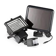 Solar infravermelho corpo sensing lâmpada holofote canaleta lâmpada casa lâmpada 60led