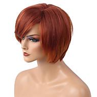 די צבע מעורב קצר שיער בובו שיער אדם פאה יפה אישה שיער