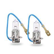 Gmy® halogênio automóvel nevoeiro luz h3 claro série 12v 100w 2pcs