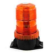 Strobe advarsel lys enkelt flash beacon amber universell bil styling dag lys parkering ledet lys eksterne lamper