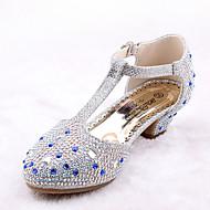 Para Meninas-Rasos-Inovador Menina Flor Shoes Conforto-Rasteiro--Microfibra Courino-Casamento Social Casual Festas & Noite