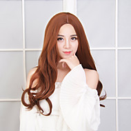 Long Wave Synthetic Wig Women Hair/Wig Cosplay Wigs Brown Color Wig