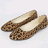 로퍼&슬립-온-야외 사무실 & 커리어 캐쥬얼-여성-조명 신발 클럽 신발-플리스-플랫-