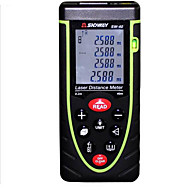 거리와 sndway sw-m40 휴대용 디지털 40m 635nm 레이저 거리 측정기&각도 측정 (1.5V AA 배터리)