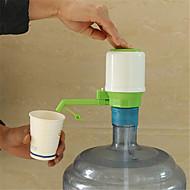 Ny design 1 sett drikker hånd trykk pumpe for flaskevann dispenser vannflaske min flaske med tag
