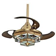 Kattotuuletin ,  Tiffany Pronssi Ominaisuus for LED suunnittelijat Metalli Living Room Makuuhuone Ruokailuhuone Työhuone/toimisto