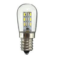 1.5w e12 led球根球根24 smd 2835 130-150 lm暖かい白い白ac110 ac220 v 1個