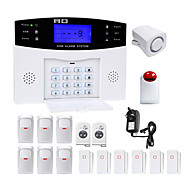 Danmini lcd wirless gsm / pstn home house kontor sikkerhed indbrudstyv alarm system