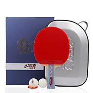 6スター Ping Pang/卓球ラケット Ping Pang ウッド ロングハンドル にきび