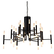 シャンデリア ,  現代風 ペインティング 特徴 for LED デザイナー メタル リビングルーム ベッドルーム 研究室/オフィス