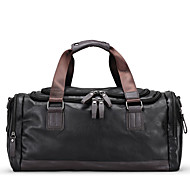 Men Bags All Seasons PU Travel Bag with for Casual Sports Outdoor Professioanl Use Black