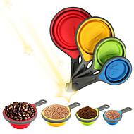 4 Piese Instrumentul de măsurare For Pentru ustensile de gătit Silicon Calitate superioară Bucătărie Gadget creativ