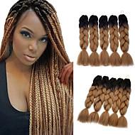 boîtes Tresses Jumbo Extensions de cheveux Kanekalon Cheveux Tressée