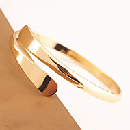Women's Cuff Bracelet Jewelry Fashion Copper Animal Shape Silver Gold Jewelry For Special Occasion 1pc