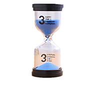 Leketøy til Gutter Oppdagelsesleker Timeglass Sylinder-formet Glass