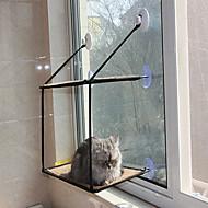 Kočka Pes pelíšky Domácí mazlíčci deky Přenosný Oboustranné použití Prodyšné Skládací Yumuşak Černá
