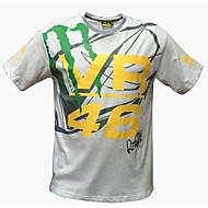 オートバイの服半袖通気性の水分発汗速乾性衣類のTシャツ夏のユニセックス