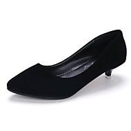 Femme-Extérieure Bureau & Travail Décontracté--Talon Bas-club de Chaussures Chaussures formelles-Chaussures à Talons-Daim