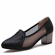 Dansesko(Guld Sort Sølv) -Kan ikke tilpasses-Cubanske hæle-Damer-Moderne