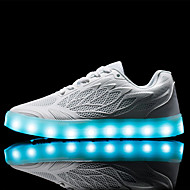 Sneakers-PU-Komfort Light Up Sko Luminous Sko-Damer--Udendørs Fritid Sport-Lav hæl