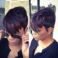 Short Layered Fluffy P1B/350# color 11inch 150g Synthetic Wig