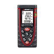 sndway sw-60 핸드 헬드 디지털 60m 196ft 레이저 거리 측정기 거리&각도 측정 (1.5V AA 배터리)