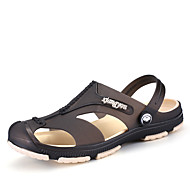 Men's Sandals Summer Light Soles PU Casual