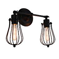 AC 220-240 8 E26/E27 Rustico/lodge Pittura caratteristica for LED Lampadina inclusa,Luce ambient Lampade da muro LED Luce a muro